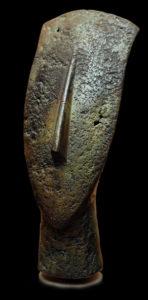 Bronze cycladique, tête en bronze grecque