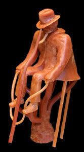 Grappe de cire pour moulage bronze cire perdue